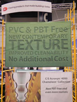 Construction Specialties at Greenbuild 2010
