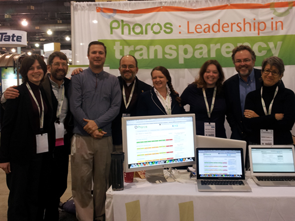 Pharos Team at Greenbuild 2013